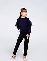 Світшот для дівчинки SMIL 116443 р. 164 Темно-синій
