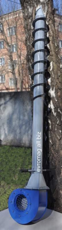 Аэратор зерновой 2,2 кВт (зерновентилятор, вентиляционное копье) + бесплатный термодатчик
