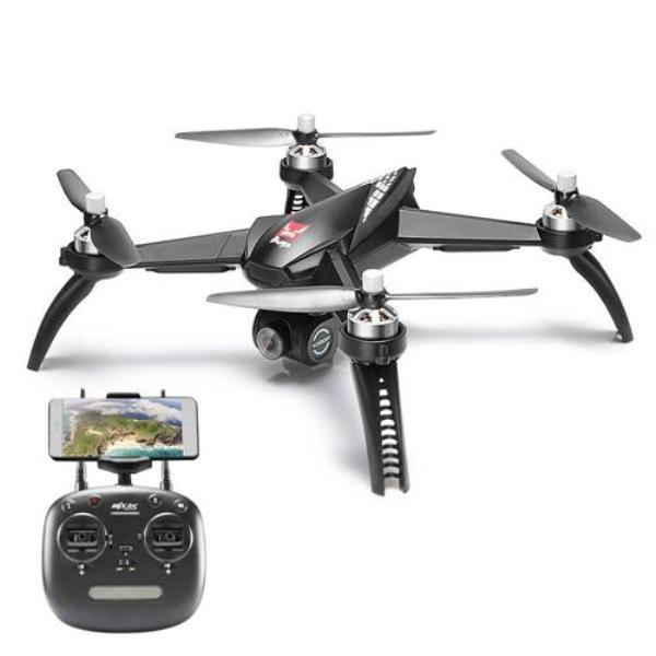 Квадрокоптер MJX Bugs B5W GPS 1080P WiFi FPV Чорний