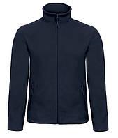 Чоловіча Куртка флісова, темно-синя, фото 1