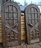 Арочные двери под старину