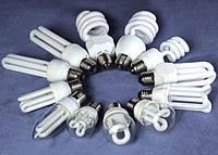 Лампа энергосберегающая 9W 4100K E14 full spiral T2