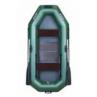 Надувная лодка Ладья ЛТ-250АЕСТ двухместная гребная с веслами и передвижным сиденьем 2.49 м (lad_ЛТ-250АЕСТ), фото 2