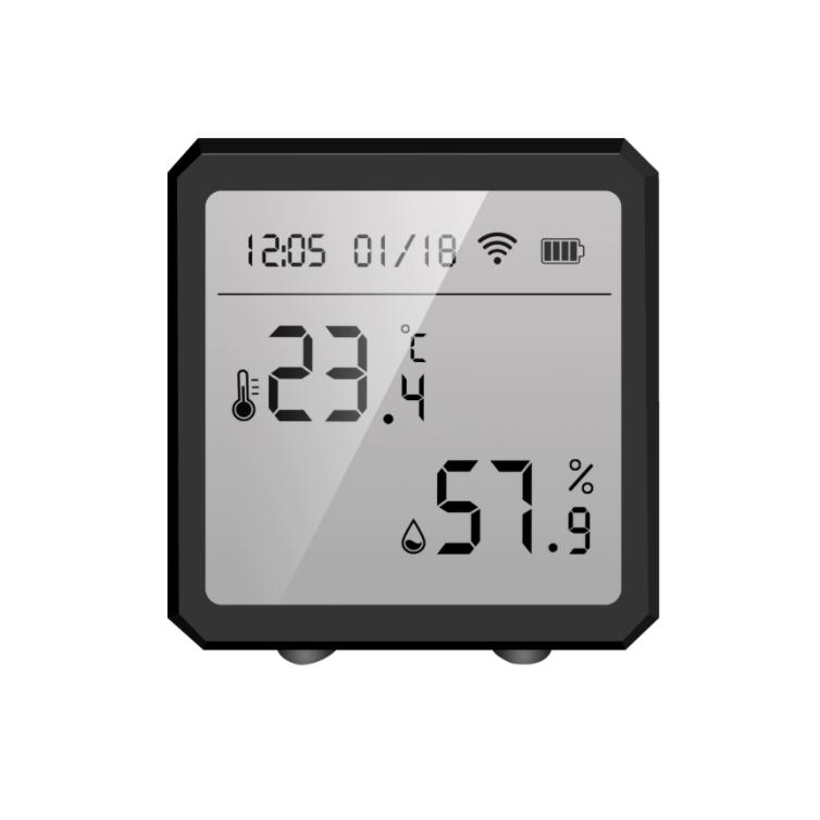 Датчик температуры и влажности Tuya WIFI black
