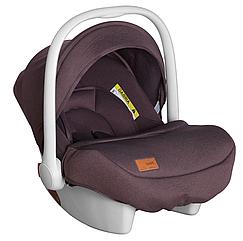 Автокресло детское от 0 до 1 года (0-13 кг) с боковой поддержкой и ручкой, Carrello Mini CRL-11801/1 Brown