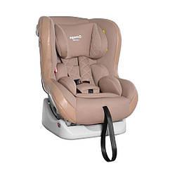 Автокресло детское от 0 до 4 лет (0-18 кг) с мягкой вкладкой под голову, Carrello Omega CRL-11806 Biege Lion