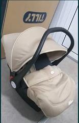 Автокресло-люлька для новорожденных от 0 до 1 года (0-13 кг), с боковой поддержкой, Tilly Sparky T-511/1 Beige