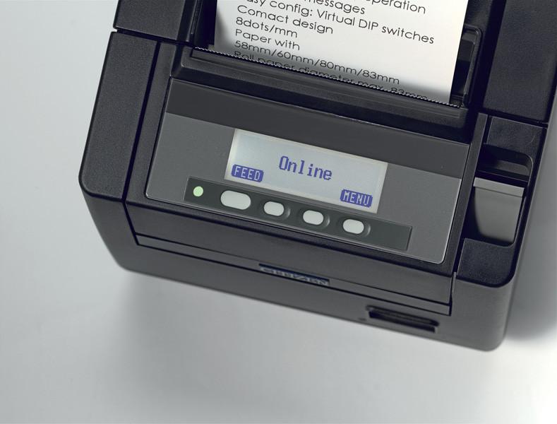 Принтер чековый Citizen CT-S 801(CTS801SNNEBK) чековый принтер  , фото 1