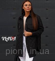 Женское Пальто-Рубашка БАТАЛ