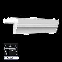 12.0001 Парапет из пенополистирола (с армирующим покрытием)