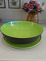 Чаша Алегро 3,5 л Tupperware в зеленому кольорі