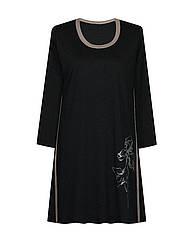 Платье с вырезом отделка кантами Ирисы