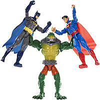 Интерактивный набор - Убийца Крок против Бэтмен и Супермена