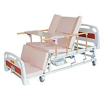 Медицинская кровать с туалетом и боковым переворотом MIRID Е05. Кровать для реабилитации. Кровать для инвалида