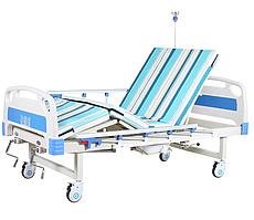 Медицинская функциональная кровать с туалетом MIRID В35. Кровать для инвалида.