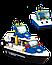 Конструктор SLUBAN Морская полиция M38-B1200, 206 деталей, фото 2