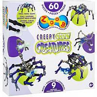 Детский конструктор Zoob Creepy Glow Creatures 14003