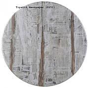 Круглая влагостойкая столешница для стола Топалит ( Topalit ) Д 600 мм.