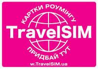 Туристическая карточка TravelSim. Продажа и пополнение в Одессе