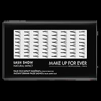 """Поштучные ресницы """"LASH SHOW N-602"""" Make Up For Ever"""
