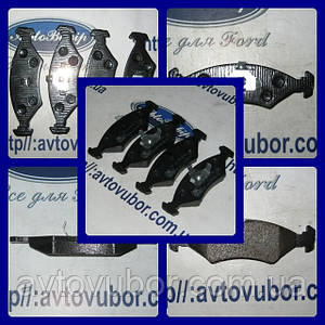 Колодки тормозные передние Ford Escort 86-90