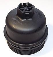 Крышка масляного фильтра для Citroen Jumper 2.2 HDi. 01.2006-. Новая, пластиковая на  Ситроен Джампер 2,2 ХДИ.