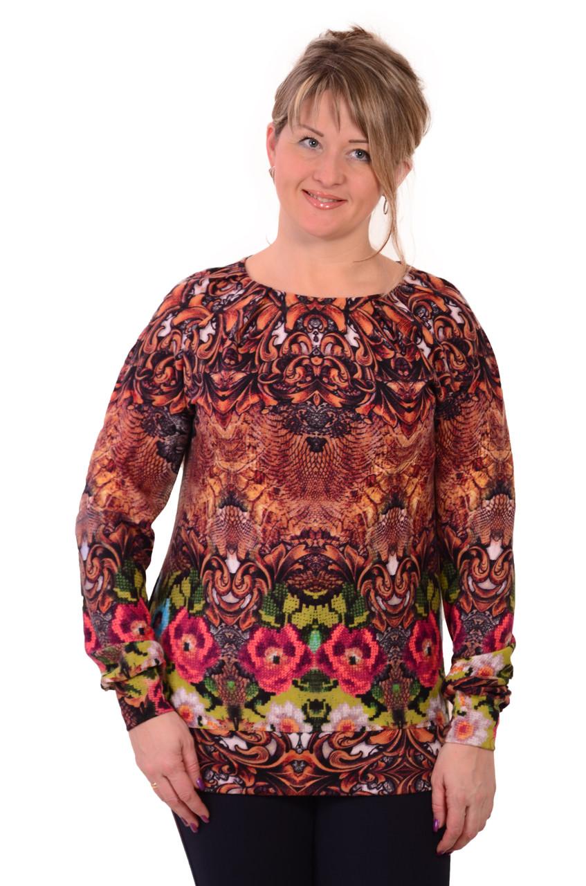 Женский свитер большой размер с доставкой