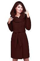 Женское демисезонное пальто ЛАККИ, кашемировое, новая коллекция 2016 года