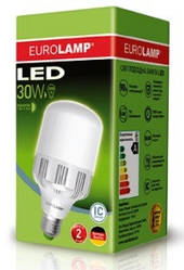 Лампа светодиодная высокомощная 30 Вт Е27 6500К