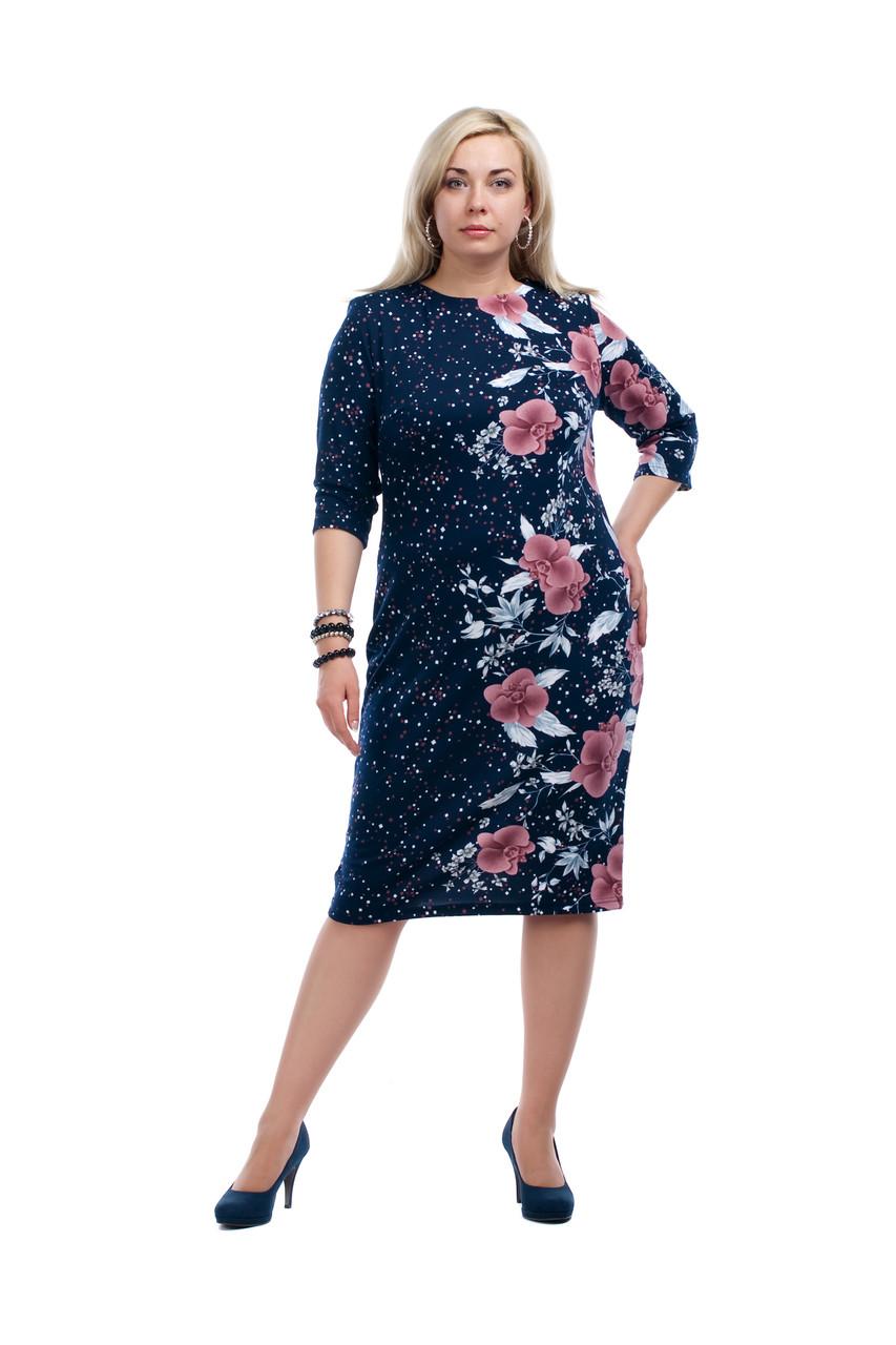 купить оптом туники платья большие размеры