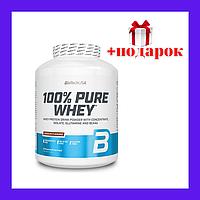 Сывороточный протеин, протеин для набора мышечной массы, протеин BioTech 100% Pure Whey, 2,27кг