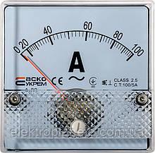 АС Амперметр 100/5А 80х80 (А-80)