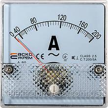 АС Амперметр 200/5А 80х80 (А-80)