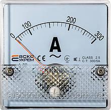 АС Амперметр 300/5А 80х80 (А-80)