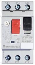 Автоматичний вимикач захисту двигуна УКРЕМ ВА-2005 М20