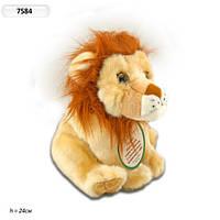 Интерактивное мягкое животное Лев 7584