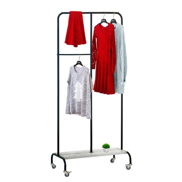 Стійка для одягу «Лофт 3 Пром» Чорний