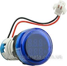 ED16-22 V AD синій 0-100А, 50-500В