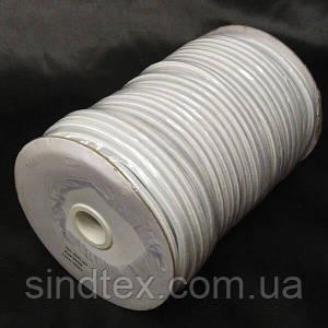 5 мм кругла Резинка (капелюшна) біла 50 ярд. (СИНДТЕКС-1560)