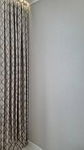 Штори з орнаментом тканини для штор з малюнком. 150 см на 280 см (2 шт)