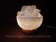 Соляная лампа - Ваза низкая