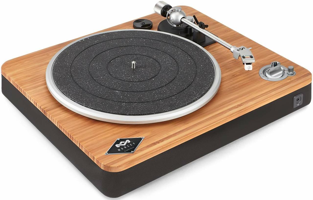 Проигрыватель виниловых дисков House of MARLEY Strip It Up Wireless (EM-JT002-SB)