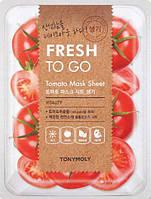 TonyMoly Tony Moly Fresh To Go Mask Sheet Tomato Освежающая тканевая маска с томатами 22 g