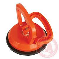Держатель-присоска для стекол одинарная 120 мм, max 40 кг INTERTOOL