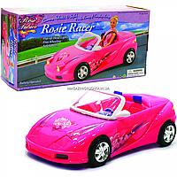 Машинка Gloria для ляльки Барбі. Кабріолет на батарейках (світло) 43х10х20 см (26010)