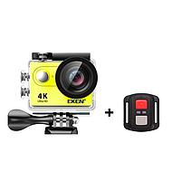Экшн камера EKEN H9R 4K пульт ДУ yellow