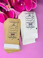 Крафт пакеты Designer для стерилизации 60*100 ,100 шт/уп, белые/коричневые