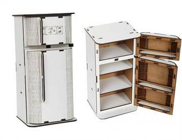 Холодильник дерев'яний