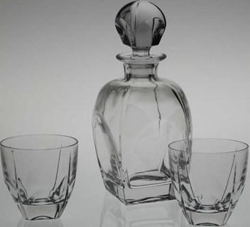 Набор для виски (7пр.) BOHEMIA fiorde 3379