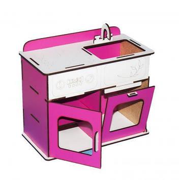 Кухня (біло-рожевий)